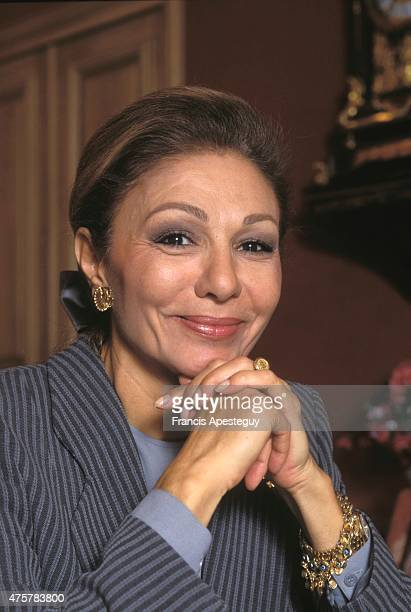Paris France Farah Pahlavi Empress of Iran