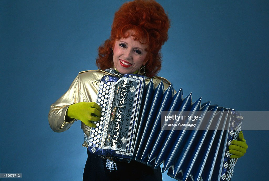 Paris, France, , French accordion player Yvette Horner  News