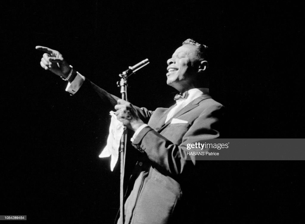 Recital De Nat King Cole A L'Olympia Le 19 Avril 1960 : News Photo