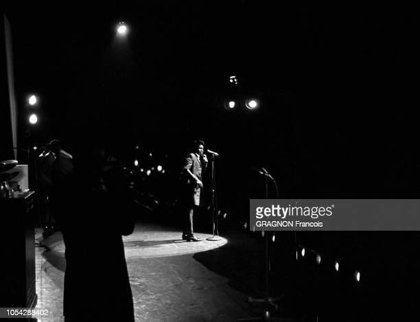 Paris France 21 septembre 1967 Concert du chanteur américain James BROWN à l'Olympia Pour son séjour à Paris Mister Dynamite est descendu à l'hôtel...