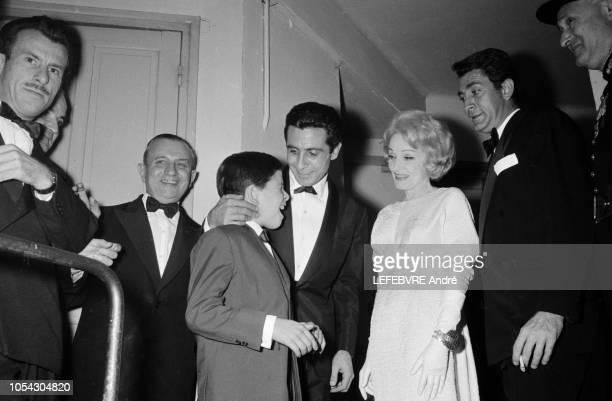 Paris France 25 octobre 1962 Première de l'Opéra d'Aran composé par Gilbert BECAUD sur un livret de Pierre Delanoé Louis Amade et Jacques Emmanuel au...