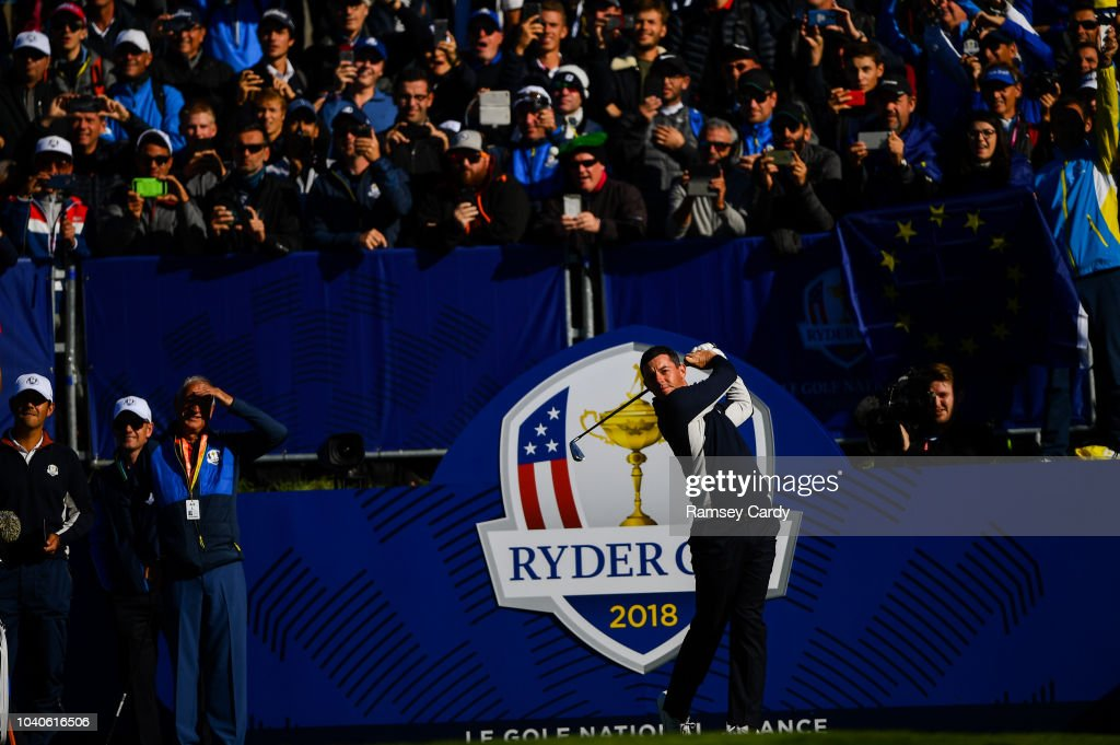 The 2018 Ryder Cup Matches - Previews Wednesday : News Photo
