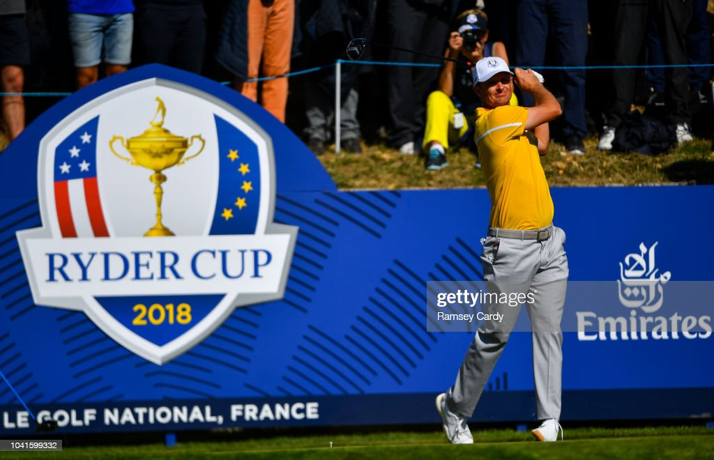 The 2018 Ryder Cup Matches - Previews Thursday : News Photo
