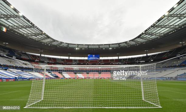 Paris , France - 28 May 2018; A general view of the pitch and stadium prior to the International Friendly match between France and Republic of...