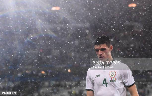 Paris France 28 May 2018 Declan Rice of Republic of Ireland following the International Friendly match between France and Republic of Ireland at...
