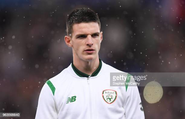 Paris France 28 May 2018 Declan Rice of Republic of Ireland prior to the International Friendly match between France and Republic of Ireland at Stade...
