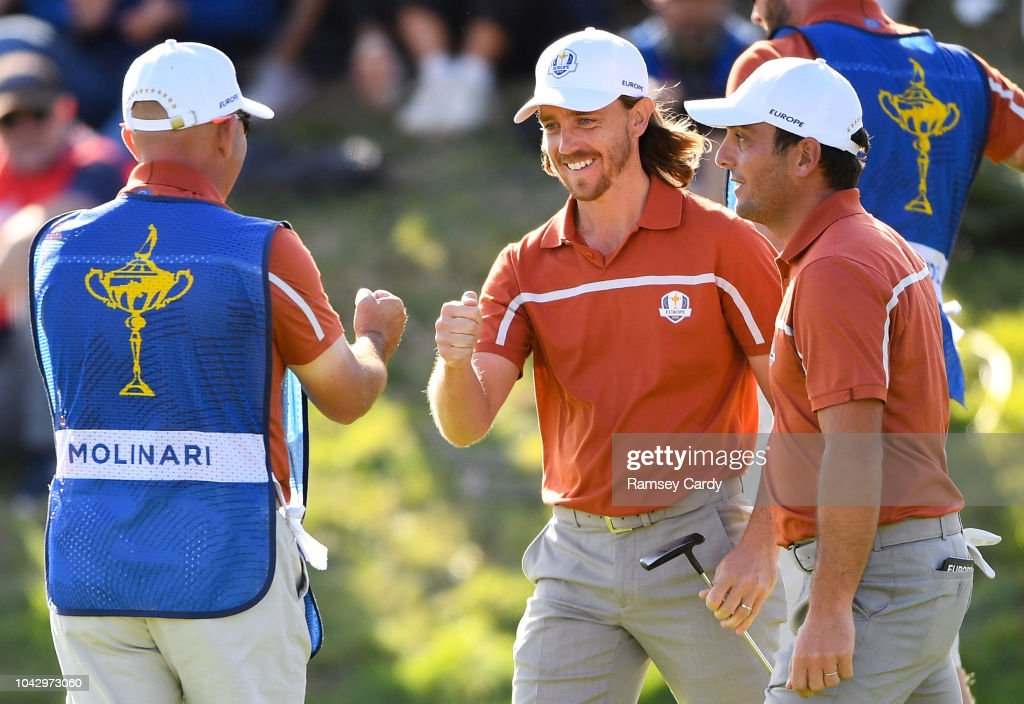 The 2018 Ryder Cup Matches - Saturday Afternoon Foursomes : News Photo