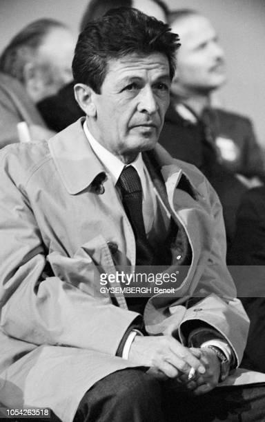 Paris, France, 3 juin 1976 --- Enrico BERLINGUER, secrétaire général du Parti communiste italien et Georges MARCHAIS, secrétaire général du Parti...