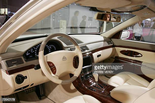 A Daimler Chrysler Maybach 57S is presented at the Paris Motor Show 29 September 2006 Over the course of the twoweek show which runs from September...