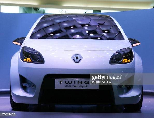 A Renault Twingo Concept Car Is Presented During The Press Days At
