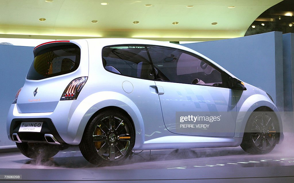 A Renault Twingo Concept Car Is Presente Pictures Getty Images