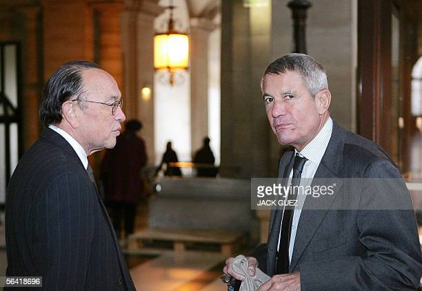 Alain Gomez former CEO of French defense firm Thomson and US business lawyer William Lee Taiwaneseborn who was charged for contesting the merging...