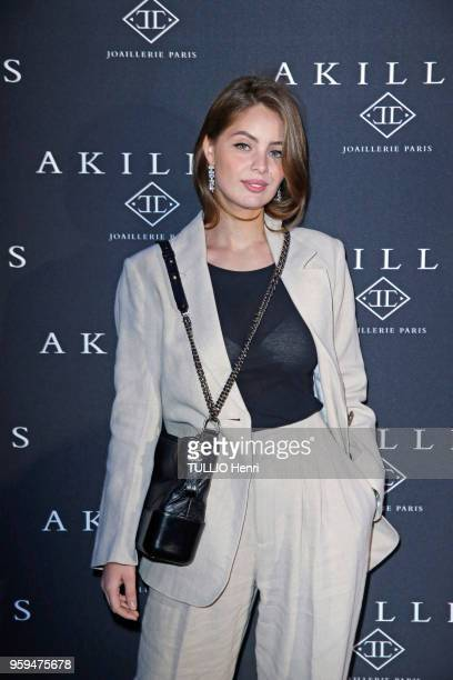 Paris France April 10 2018 The Akillis Jewelery House celebrated its 10th anniversary at the Palais de Chaillot MarieAnge CAS