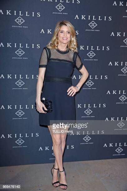 Paris France April 10 2018 The Akillis Jewelery House celebrated its 10th anniversary at the Palais de Chaillot Alice TAGLIO