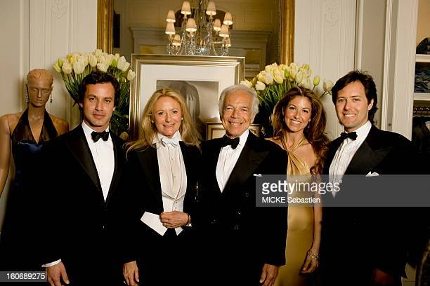 Paris - France - April 14, 2010 --- The fashion designer Ralph Lauren in Paris for the opening of its largest store in Europe, in a mansion, at 173...