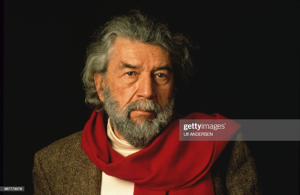 Alain Robbe Grillet, French writer. : ニュース写真