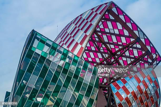 Paris, France. Fondation Louis Vuitton.