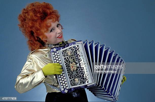 Paris France French accordian player Yvette Horner