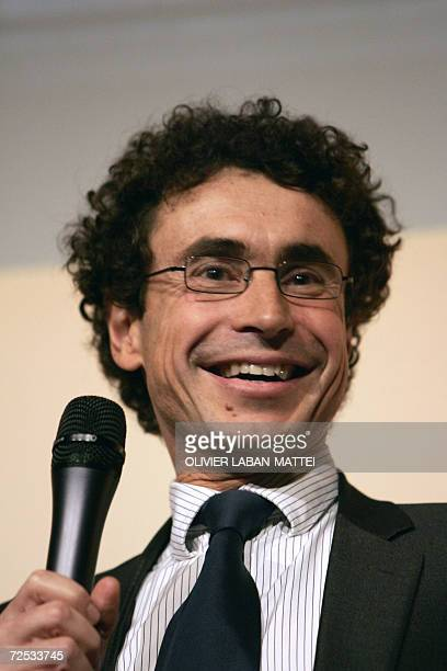 French fixed line telecommunications operator Neuf Cegetel chief executive Jacques Veyrat smiles 13 November 2006 during the French radio BFM Awards'...