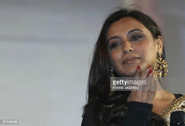 Indian actress Rani Mukerji poses before attending the screening of her movie ZeerZaara 26 April 2006 in Paris AFP PHOTO PIERRE ANDRIEU