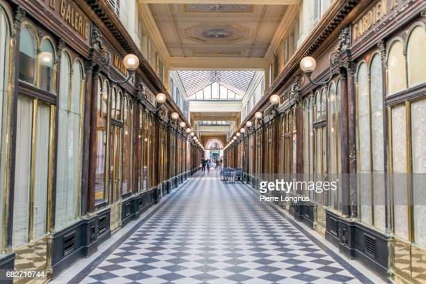 Paris - France : Interior of the Galerie Véro-Dodat