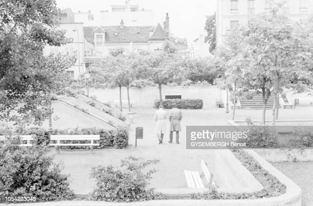 Paris France juin 1980 PierreCharles Pathé fils du célèbre industriel du cinéma a travaillé pour les services de renseignement soviétiques à partir...