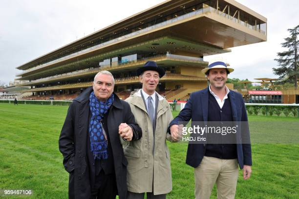 Paris France March 28 2018 After two years of work and a renovation budget of 140 million euros the new ParisLongchamp racecourse will be inaugurated...