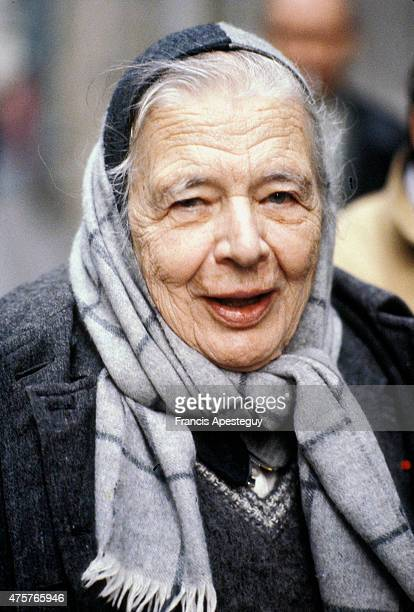 Paris France Marguerite Yourcenar author Academician
