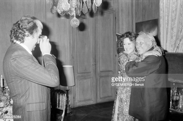 Paris France octobre 1979 Projection privée du film Don Giovanni de Joseph LOSEY en présence du réalisateur et des chanteurs Ruggero RAIMONDI qui...