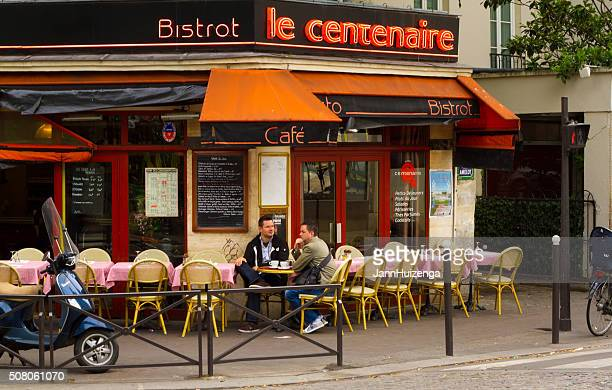 Paris, France: Paris Outdoor Cafe-Bistro Life