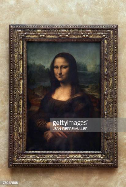 Picture taken 05 April 2005 in Paris Louvre Museum of the Portrait of Mona Lisa painted by Leonardo da Vinci An expert on the Mona Lisa says he has...