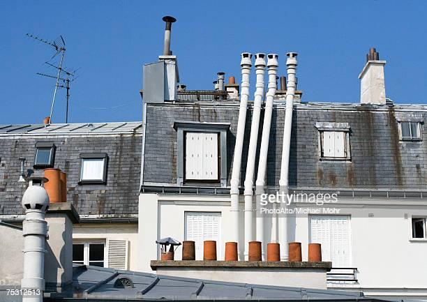 Paris, France, roof tops