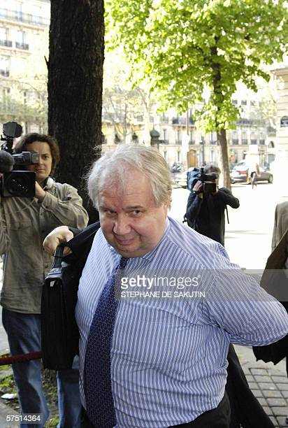 Russia's Foreign Deputy Minister Serguei Kislyak arrives 02 May 2006 for a highlevel meeting of the five permanent UN Security Council members...