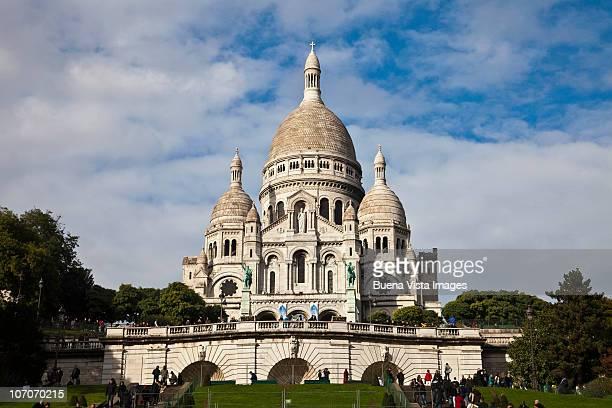 Paris, France. Sacré-Coeur Basilica.