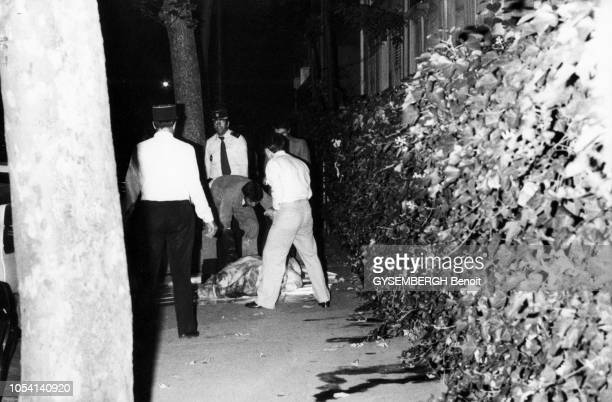 Paris, France, septembre 1979 --- Huit jours après sa disparition, l'actrice Jean SEBERG est retrouvée morte dans sa voiture. Elle avait avalé des...
