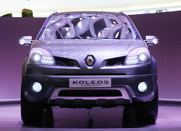 The New Renault Koleos Concept Car Is P Pictures Getty Images