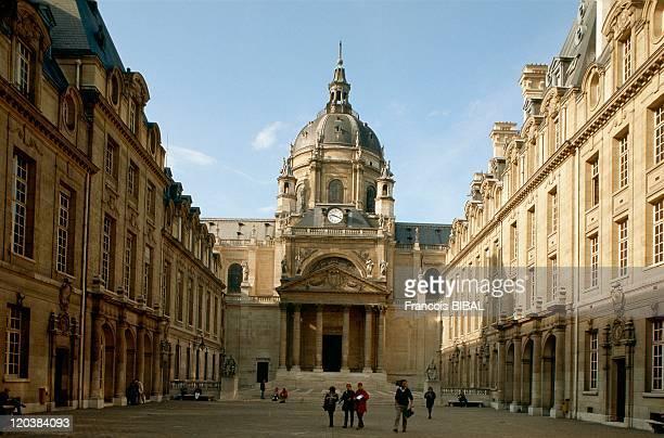 Paris France The Sorbonne