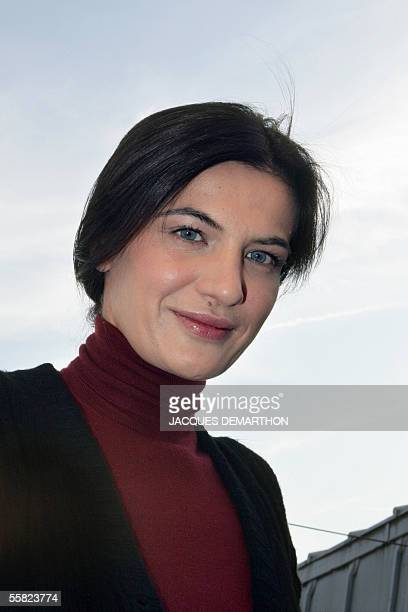 Croatian designer for Celine, Ivana Omazic, poses, 22 September 2005 in Paris. Paris ready-to-wear week will serve up more than fashion when it kicks...