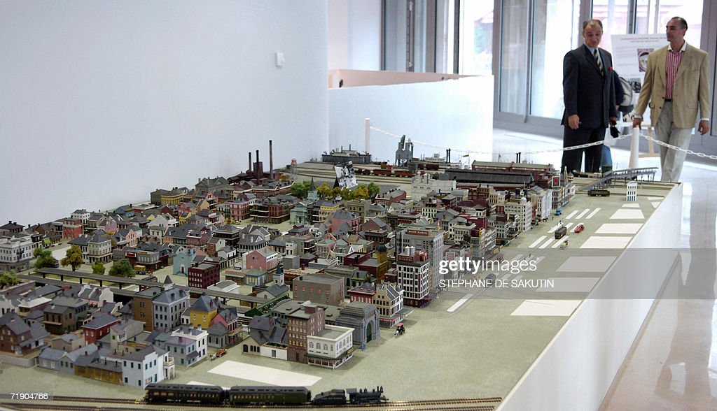 View of the model of the town of New Orl Pictures | Getty Images