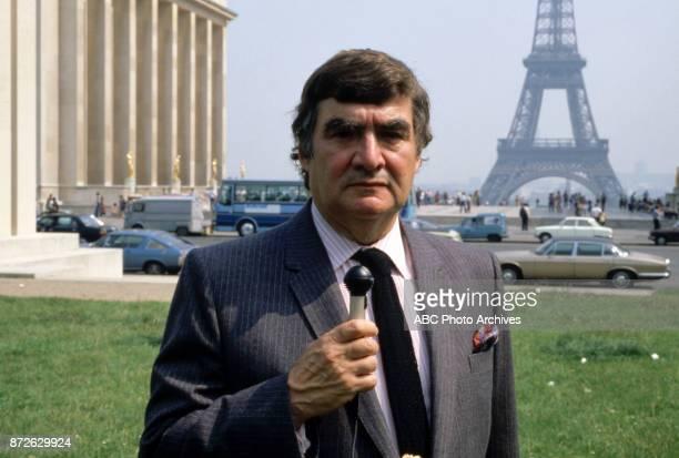Walt Disney Television via Getty Images News correspondent Pierre Salinger promotional photo.