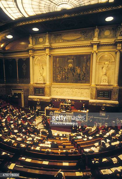 Paris FranceThe French National Assembly the lower house of the French Parliament
