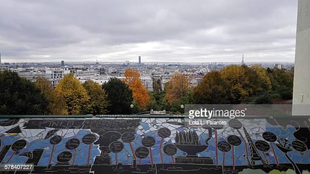 Paris from Belleville