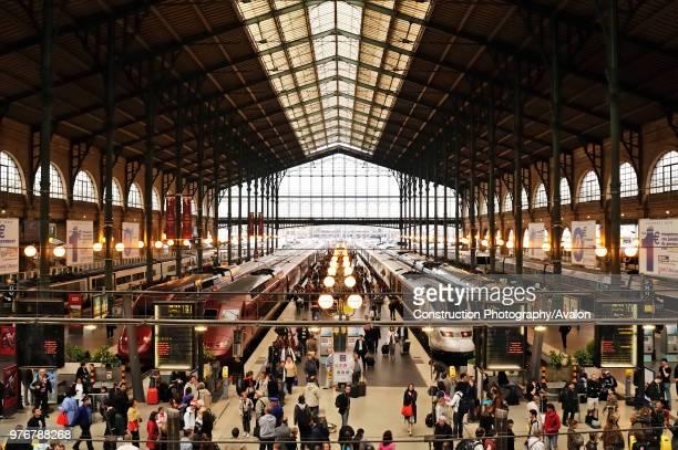Paris, Gare du Nord.