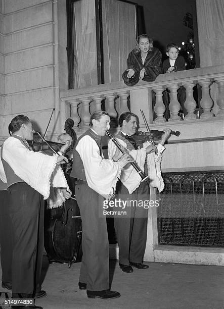 Gypsy Serenade The everbeautiful Ingrid Bergman and her son Robertino share astonishment and delight as Hungarian musicians serenade the windows at...