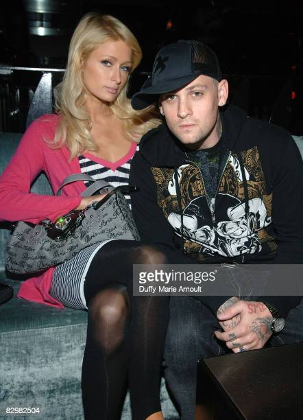 Paris Hilton and Benji Madden at Touch on September 23, 2008 in New York City.