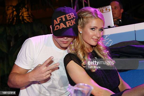 Paris Hilton and boyfriend River Viiperi attend The Pool After Dark's Six year anniversary party at Harrah's Resort on Saturday May 4 2013 in...