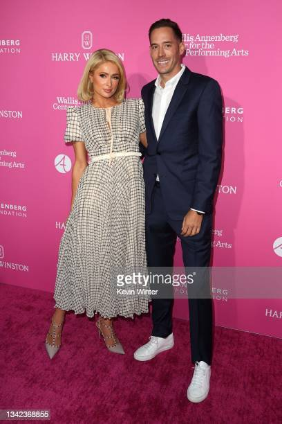 Paris Hilton and Carter Milliken Reum attend The Wallis Delivers: Al Fresco Night presented by The Wallis Annenberg Center for the Performing Arts at...