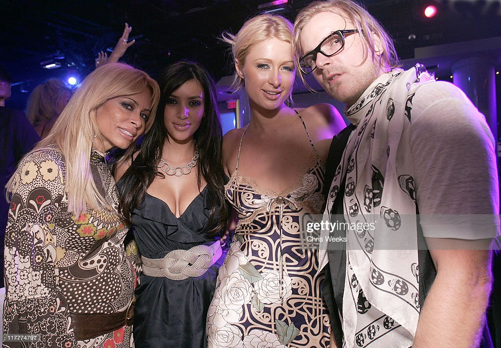 Paris Hilton CD Release Party at Pure Nightclub - Inside : News Photo