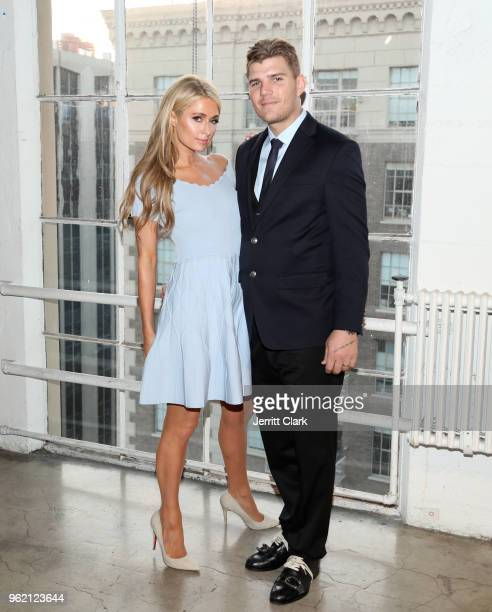 Paris Hilton and Chris Zylka attend Gaggenau Restaurant 1683 Honoring Operation Smile on May 23 2018 in Los Angeles California