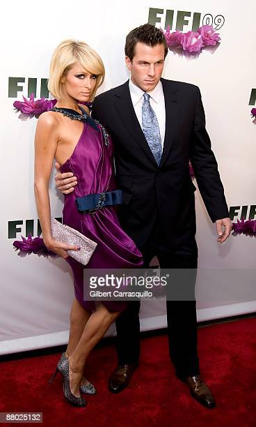 Paris Hilton and Doug Reinhardt attend the FIFI Awards at The Armory on May 27 2009 in New York City